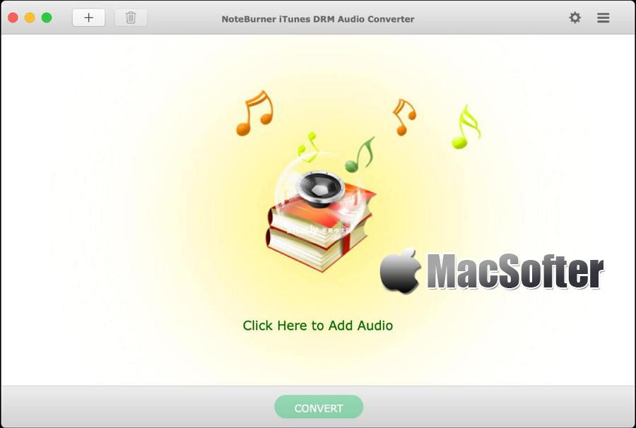 [Mac] NoteBurner iTunes DRM Audio Converter : Apple音乐和有声读物DRM去除及格式转换工具