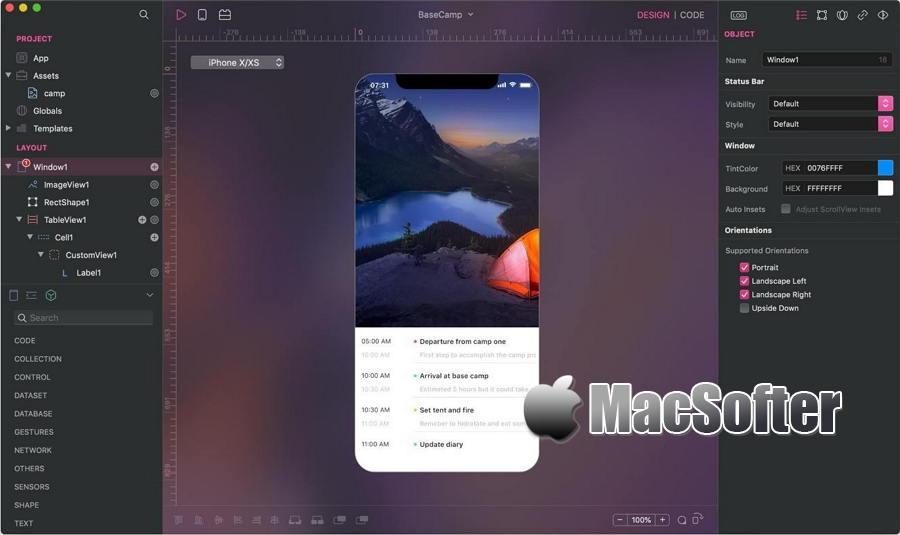 [Mac] Creo :移动应用程序APP设计开发一体化工具