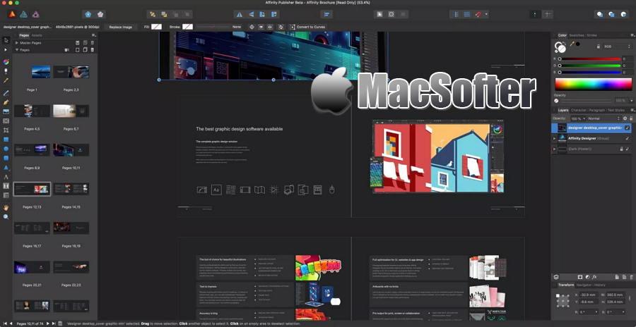 [Mac] Affinity Photo : 专业的照片编辑处理软件