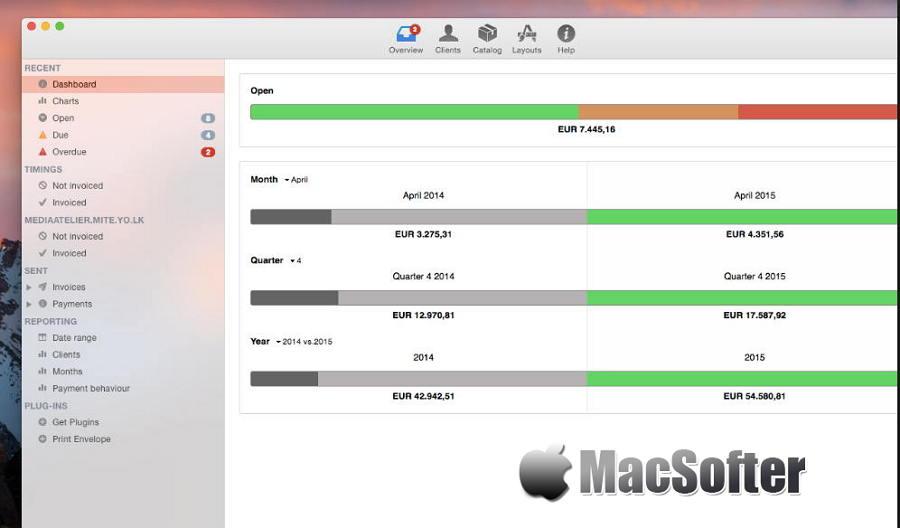 [Mac] GrandTotal : 发票单据及预算单据制作工具