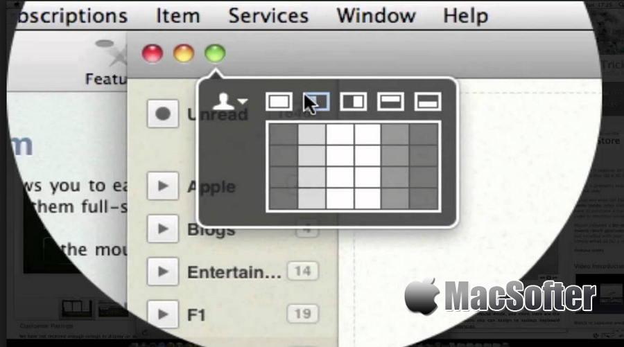 [Mac] Moom : 强大的窗口排列布局管理工具