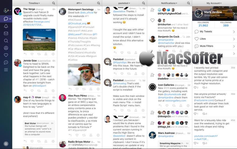 [Mac] Tweetbot :优秀的推特twitter客户端