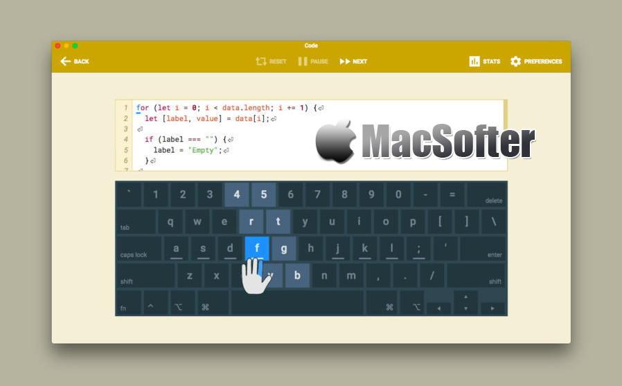 [Mac] Type Fu : 练习打字软件