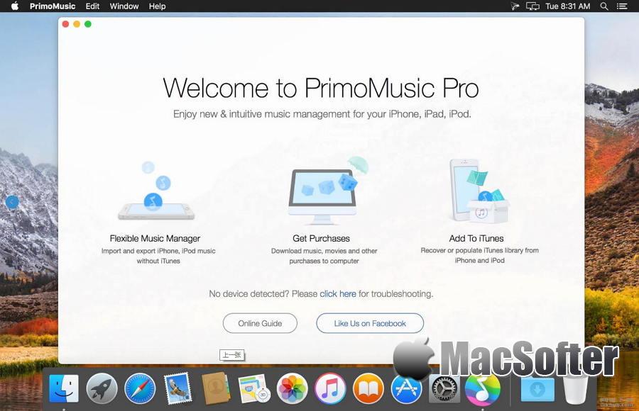 [Mac] PrimoMusic Pro : 方便好用的iPhone音乐视频传输管理工具