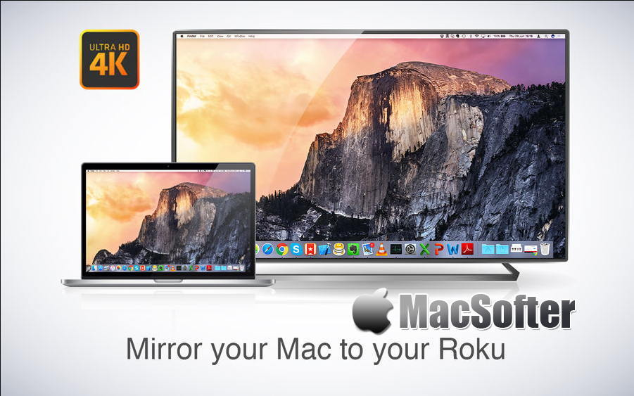 [Mac] Mirror for Roku : Roku智能电视盒子投屏软件