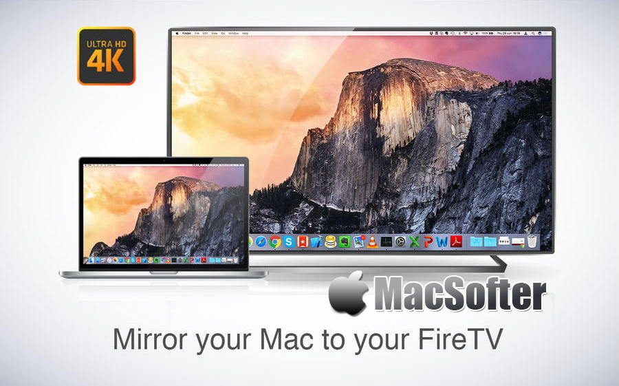 [Mac] Mirror for Fire TV : Amazon Fire电视投屏播放软件