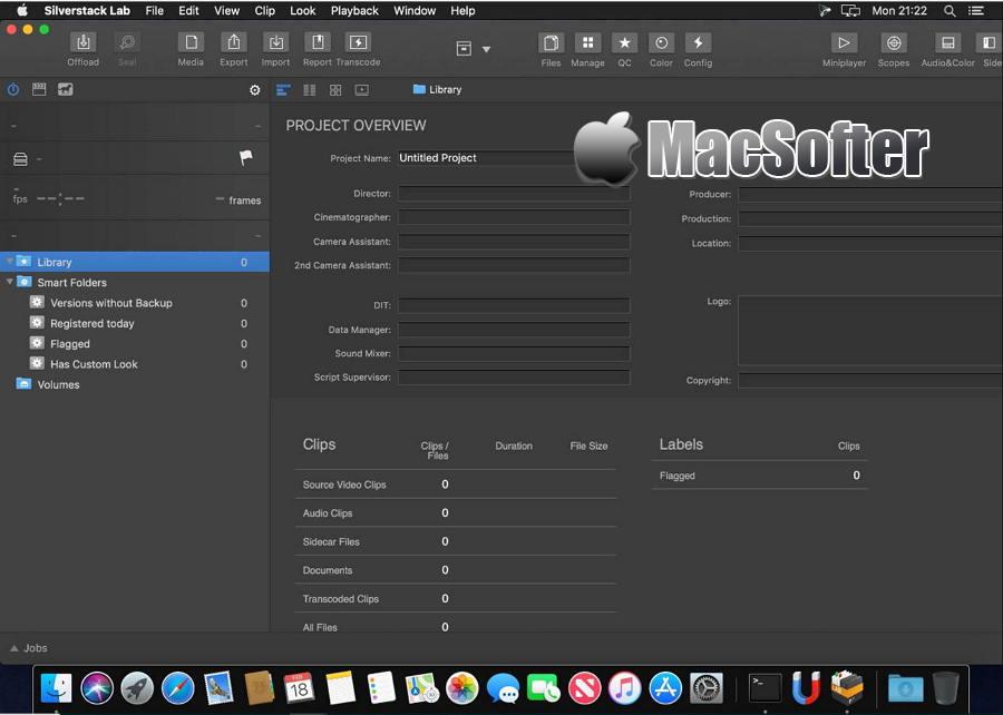 [Mac] Silverstack Lab : 一站式的素材管理工具