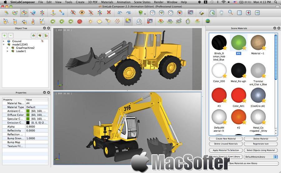 [Mac] Simlab Composer : 专业3D场景创建工具