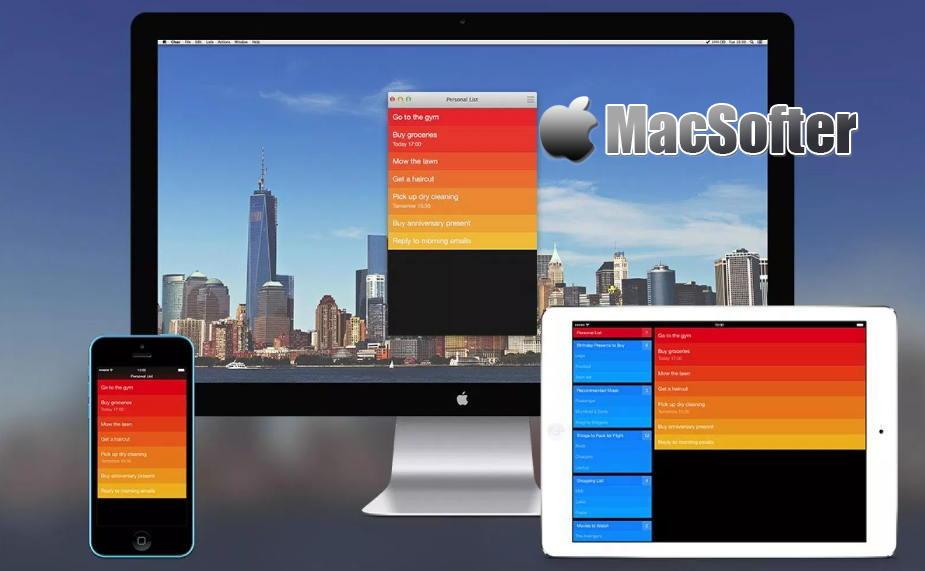 [Mac] Clear : 支持iCloud同步的任务和待办事项清单工具