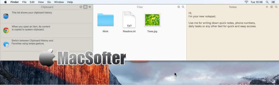 [Mac] Unclutter : 集快速笔记、文件收集和剪贴板管理的效率工具