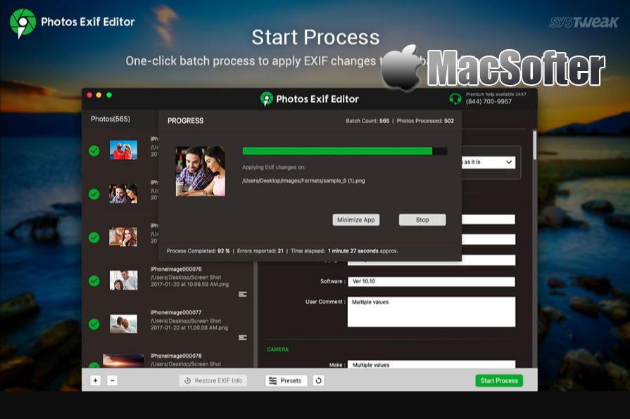 [Mac] Photos Exif Editor : 照片EXIF信息查看编辑器