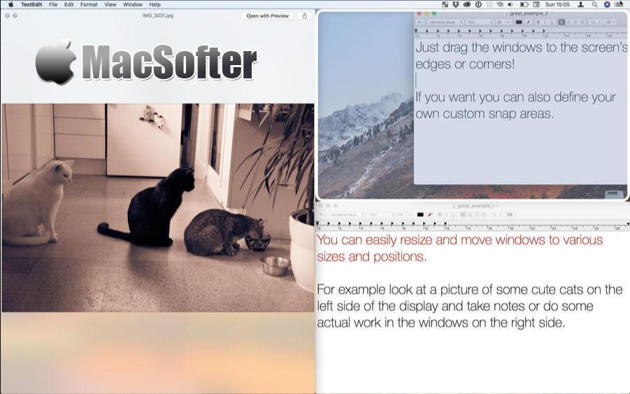[Mac] BetterSnapTool : 强大的窗口管理工具
