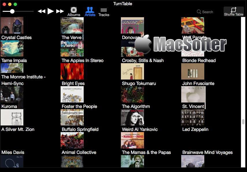 [Mac] TurnTable :轻量好用的音乐播放器