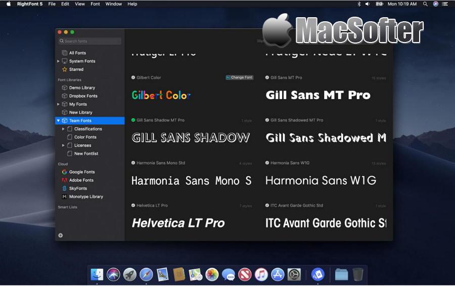 [Mac] RightFont : 专业的字体管理软件