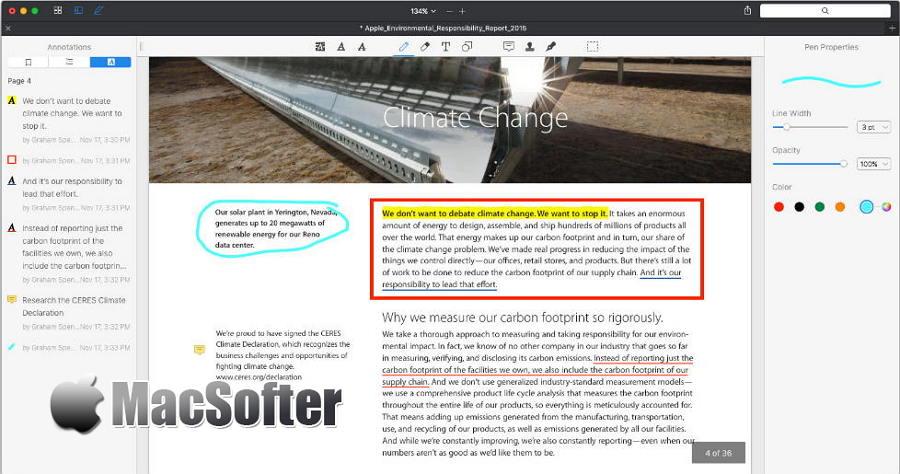 [Mac] PDF Expert : PDF批注签名编辑工具