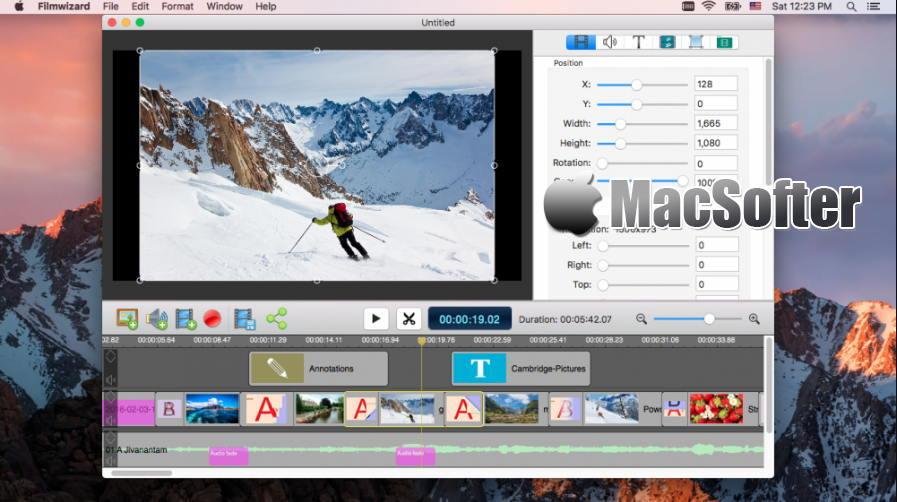 [Mac] Filmwizard : 专业的视频制作工具