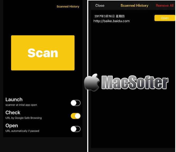 [iPhone/iPad]二维码大师 : 方便的一键扫码神器