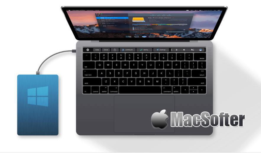 [Mac] Paragon NTFS : 优秀的ntfs格式读写工具