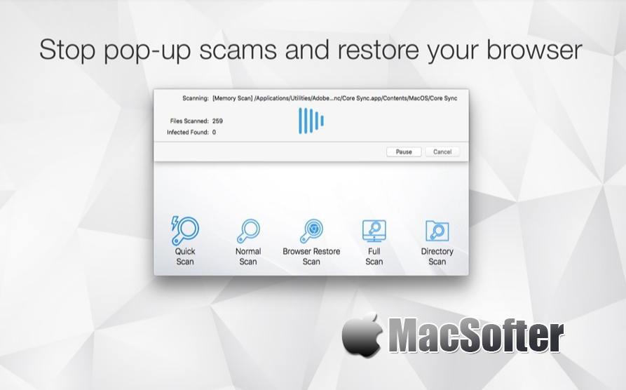 [Mac] Antivirus Zap : 恶意软件清除及杀毒软件