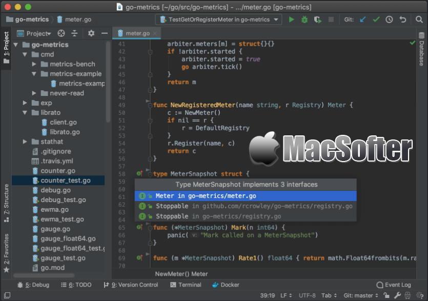 [Mac] JetBrains Goland : Go语言开发环境
