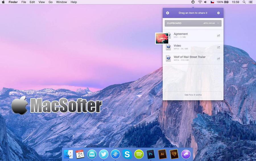 [Mac] Instashare : 基于蓝牙及无线局域网的iOS、Mac文件互传工具