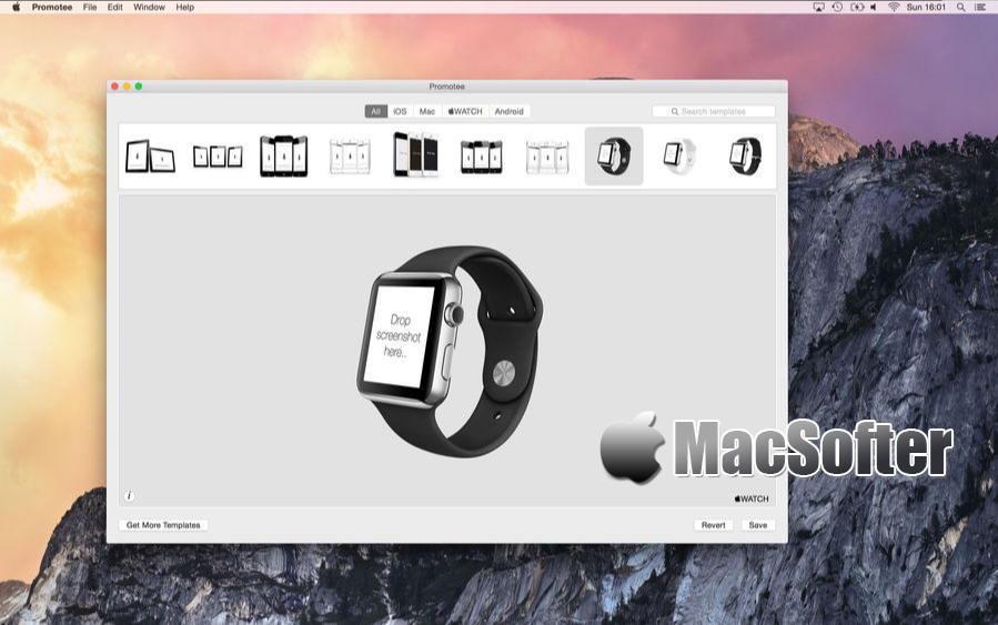 [Mac] Promotee : 应用程序APP展示效果图快速制作工具