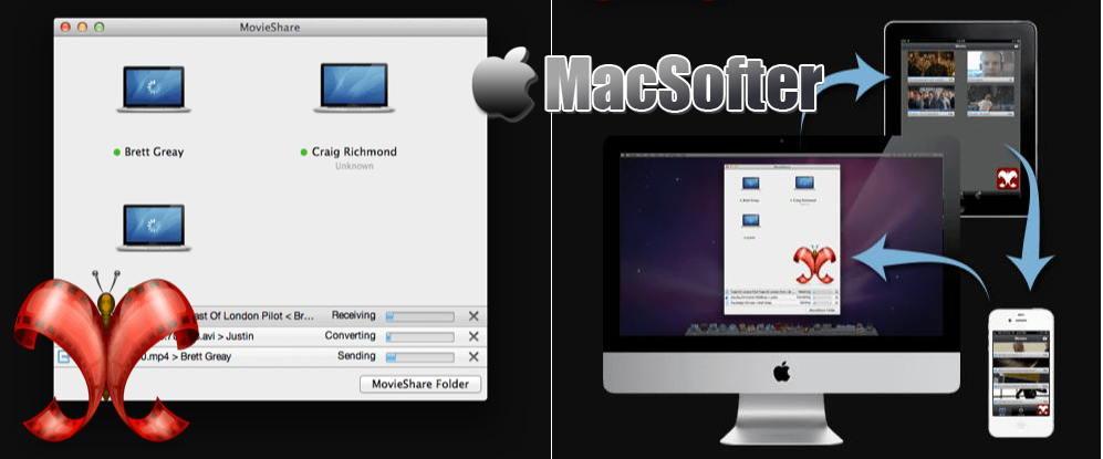 [Mac] MovieShare : 在Apple设备之间( iPhone, iPad, iPod Touch, Mac)轻松共享视频