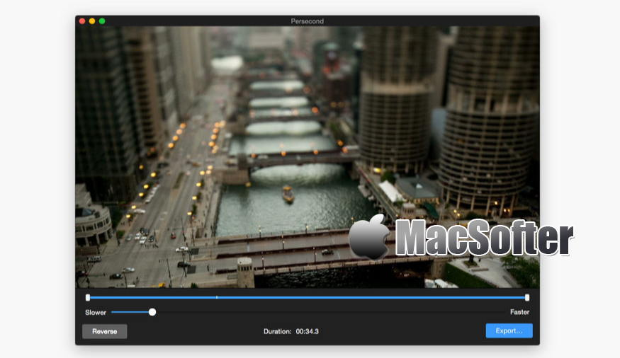 [Mac] Persecond : 延时视频制作软件