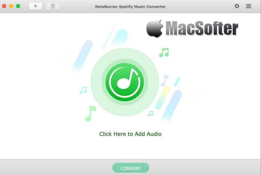[Mac] NoteBurner Spotify Music Converter : 方便的Spotify音乐转换工具