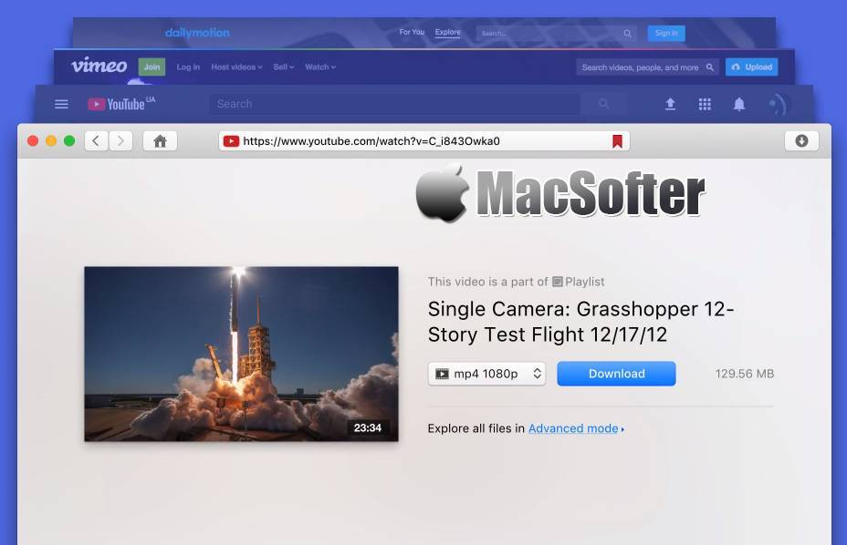 [Mac] VideoDuke : 在线网页视频下载工具