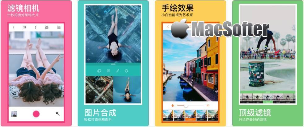 [iPhone/iPad]翻腾木P图 : 超赞的修图滤镜相机软件
