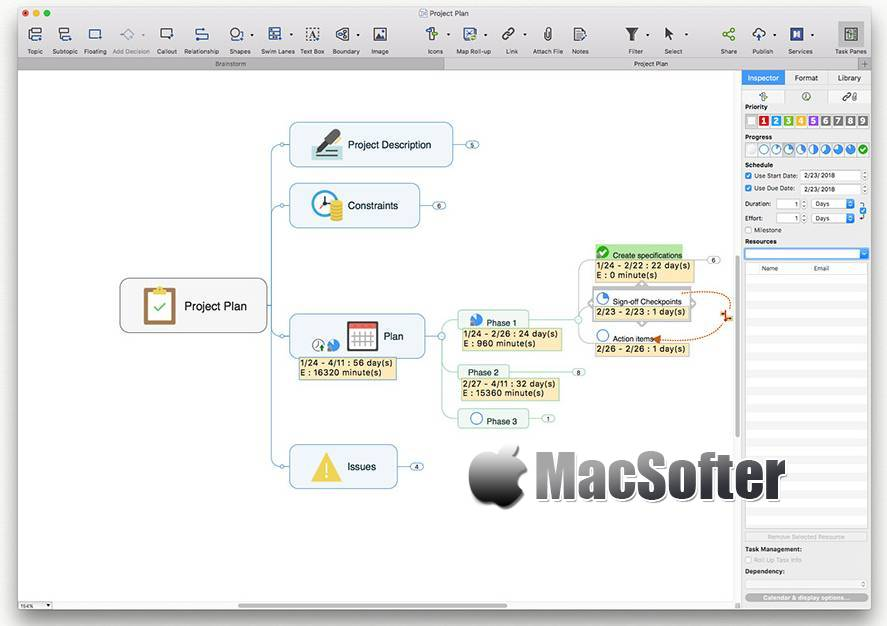 [Mac] Mindjet MindManager : 专业的思维导图软件