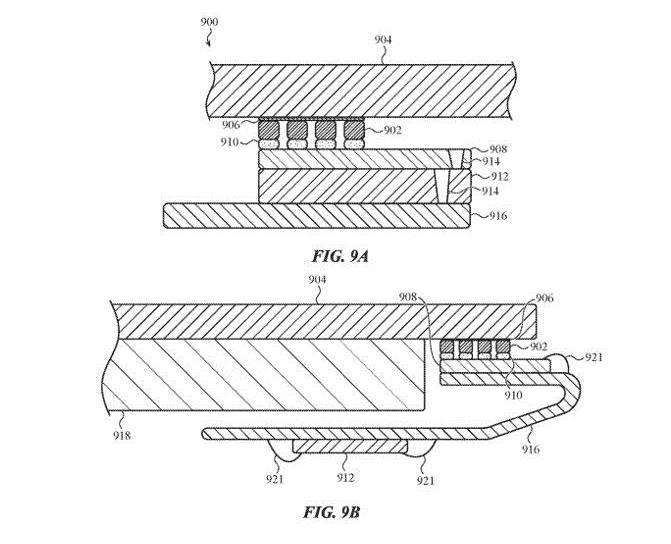 iPhone极有可能将打在屏下指纹 : 苹果超声波全屏幕指纹技术专利获批