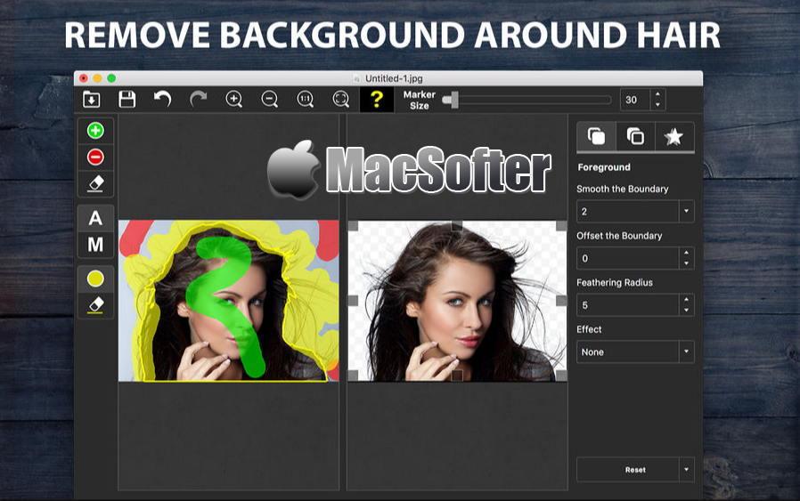 [Mac] PhotoScissors : 好用的图片去背景抠图软件