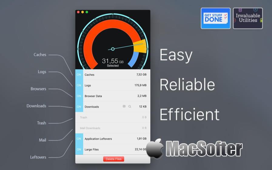 [Mac] Disk Diag  :  系统垃圾清理工具