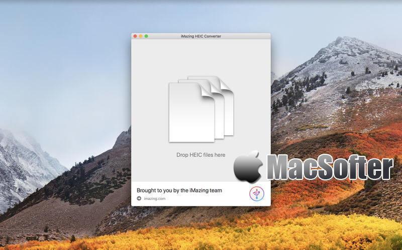 [Mac] iMazing HEIC  Converter : 将HEIC转JPEG/PNG的图片格式转换器
