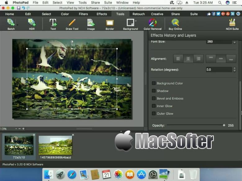 [Mac] NCH PhotoPad Image Editor : 方便好用的照片编辑软件