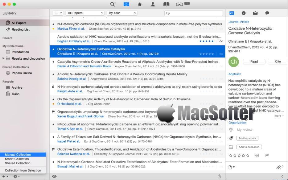 [Mac] Papers : 专业的文献管理工具