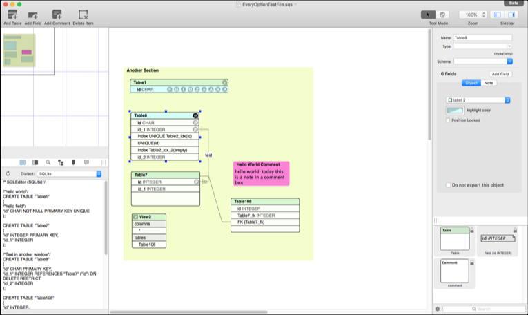 [Mac] SQLEditor : 专业的数据库设计编辑管理工具