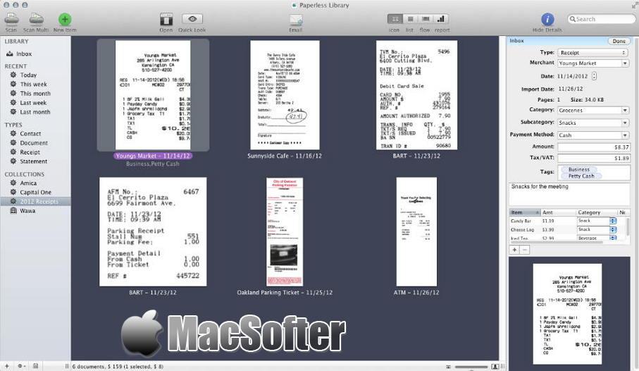 [Mac] Paperless :无纸化电子文档/扫描件管理工具