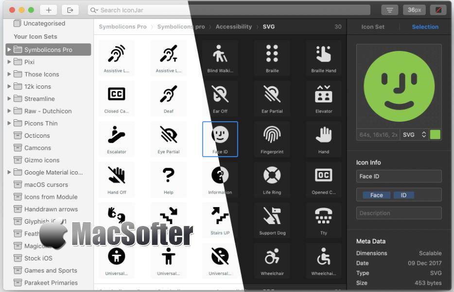 [Mac] IconJar : 好用的图标素材管理工具