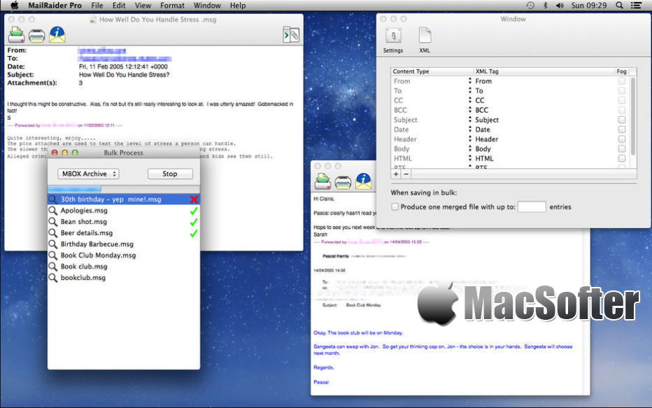 [Mac] MailRaider Pro : Outlook的msg和Winmail.dat文件格式转换工具