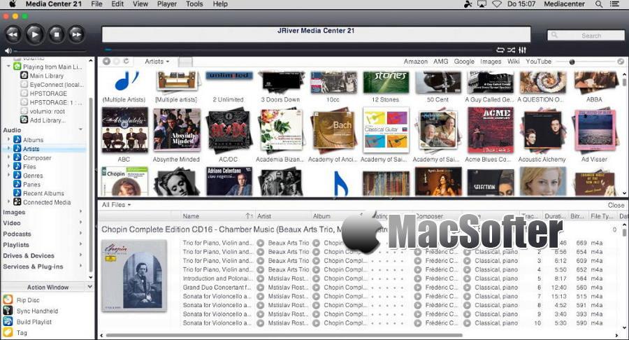 [Mac] JRiver Media Center : 音视频多媒体管理及播放软件