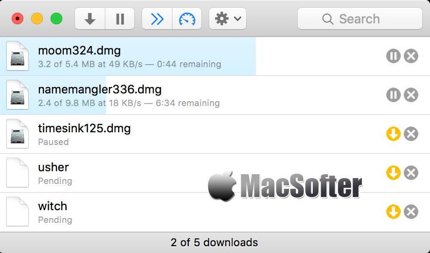 [Mac] Leech : 支持多线程的下载工具