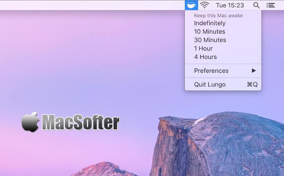 [Mac] Lungo :让mac不休眠的软件