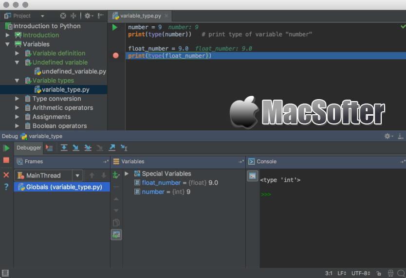 [Mac] JetBrains PyCharm : Python开发工具
