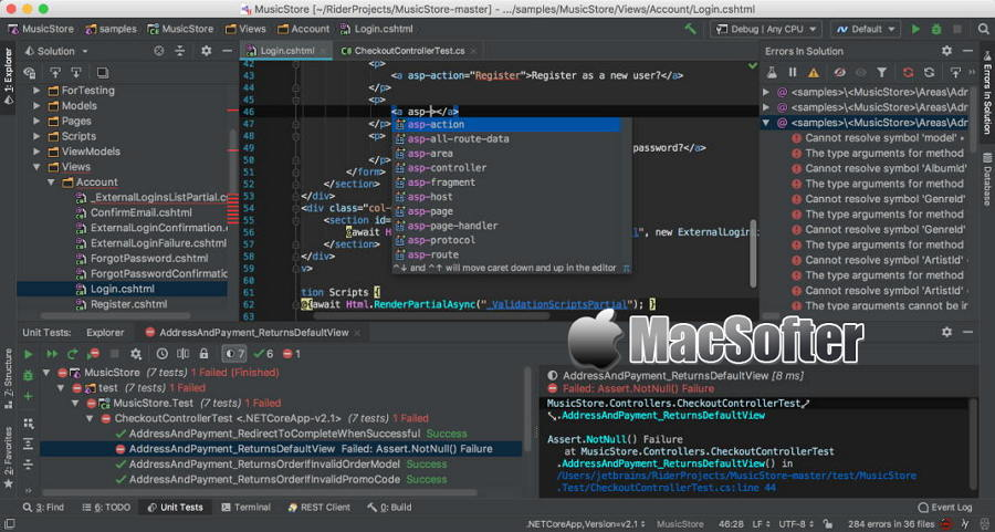 [Mac] JetBrains Rider : 强大的C语言编辑器IDE