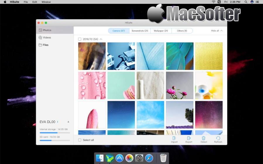 [Mac] HiSuite : 华为手机助手