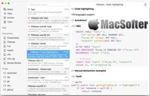 [Mac] FSNotes : 支持Markdown和RTF的笔记软件