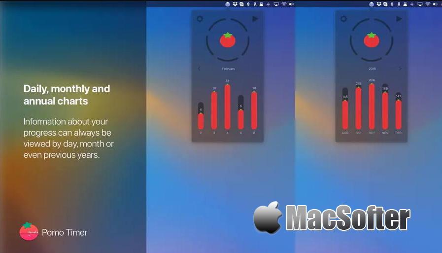 [Mac] Pomo Timer : 方便好用的番茄钟软件